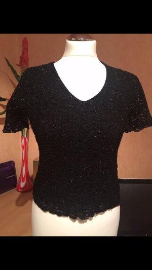 Camicia nero-argento