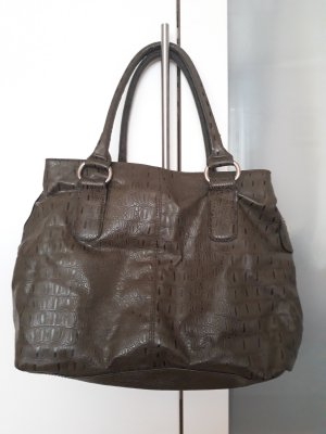 H&M Handbag grey brown