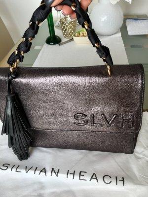 Schicke Tasche von Silvian Heach in metallic look