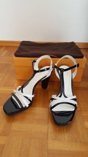 Tod's Sandalias de tiras blanco-negro