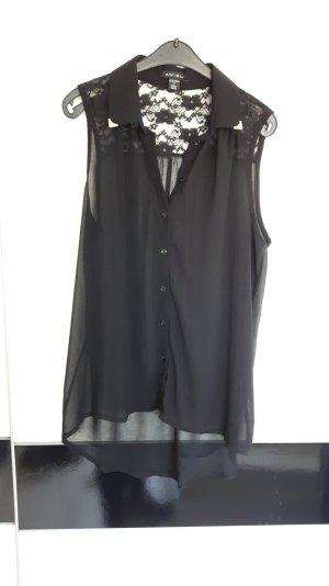schicke transparente bluse