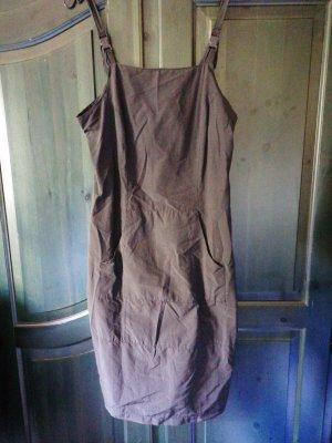 Robe tunique noir tissu mixte
