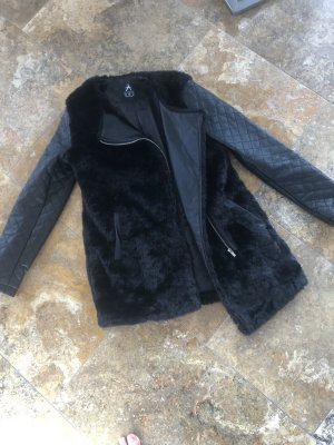 Atmosphere Fake Fur Jacket black