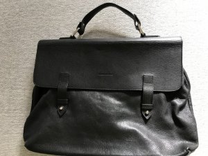 Pierre Balmain Porte-documents noir cuir