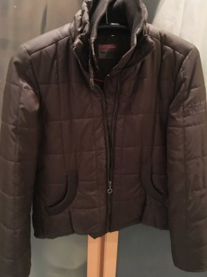 Quilted Jacket olive green