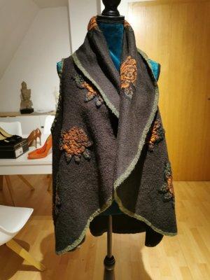Fleece Vest multicolored