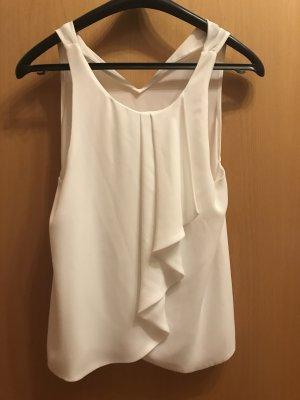 Schicke weiße Bluse