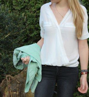 Schicke weiße Bluse von Vero Moda