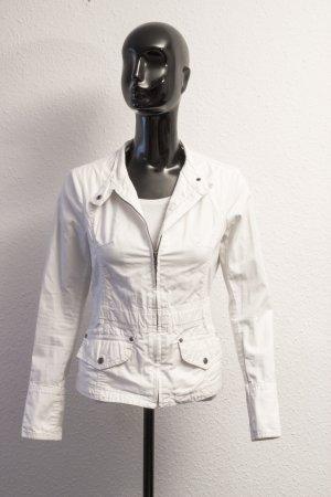 schicke Weiße Damen Jacke | 34