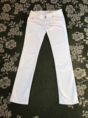 Schicke weiße Tommy Hilfiger Jeans für lange Beine!