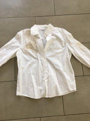 Schicke weißes Blusenhemd von Gerry Weber