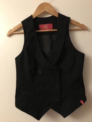 Esprit Omkeerbaar vest zwart