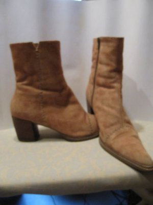 Graceland Western Booties beige imitation leather