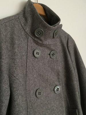 Schicke Wolljacke in melange-grau von H&M