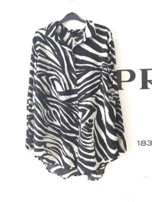 Schicke Zebra Bluse H&M