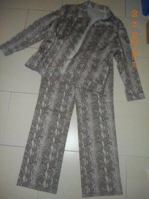 Tailleur pantalone cognac-oro
