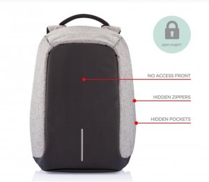 Schicker Anti-Diebstahl Laptop-Rucksack von XD-Design