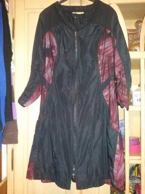Biba Long Jacket black-dark red