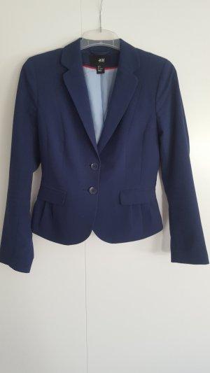 Schicker blauer Blazer von H&M Gr. 36