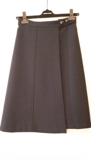 Schicker blauer Wickelrock von SONIA RYKIEL Größe S
