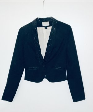 H&M Blazer corto negro