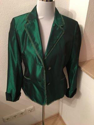Schicker Blazer grün metallic