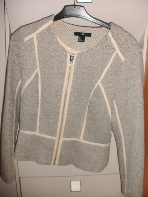 H&M Blazer sweat multicolore Poliestere