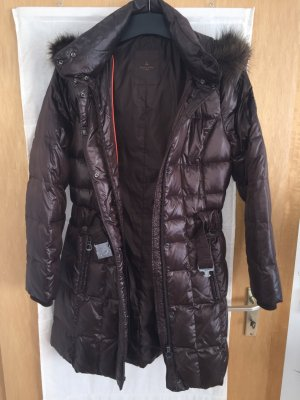 s.Oliver SELECTION Down Coat dark brown