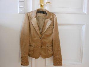 Schicker Cord-Blazer, gold, Gr. 38