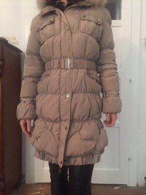 Manteau en duvet beige-beige clair