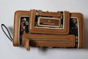 Schicker Geldbeutel mit Blumen-Muster