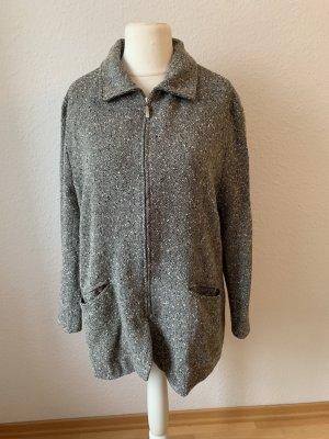 Schicker grauer Oversize Mantel Größe L