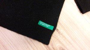 Schicker grosser schwarzer Schal von Benetton