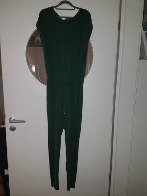 schicker, grüner Jumpsuit