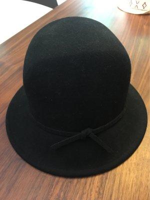 Vilten hoed zwart