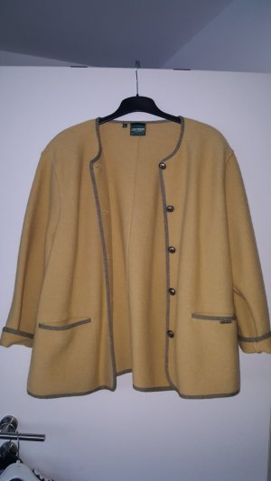 Geiger Wool Jacket gold-colored