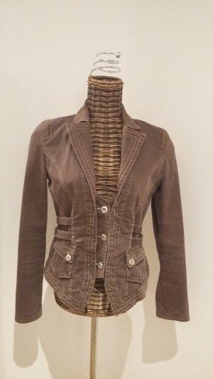 Schicker Jeans-Anzug