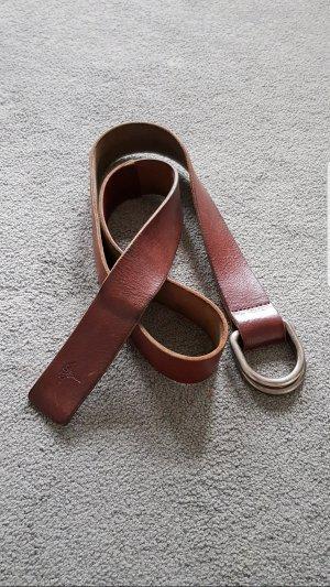 Joop! Leather Belt brown-cognac-coloured