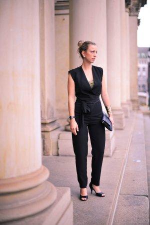 Stradivarius Suit Trouser black polyester