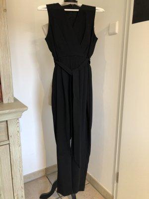 schicker Jumpsuit, schwarz, Größe 38