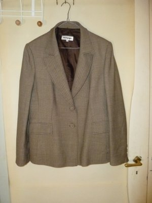 El Corte Ingles Boyfriend Blazer brown-oatmeal