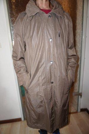 Basler Short Coat bronze-colored-grey brown cotton