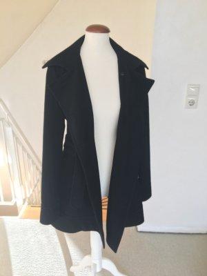 Schicker Mantel schwarz 36 S