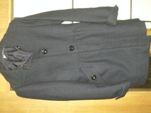 Schicker Mantel, schwarz