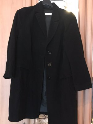 Manteau en laine noir laine
