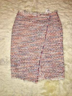 H&M Tweed rok veelkleurig