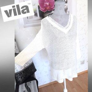 Schicker & neuwertiger - VILA - Pullover Gr. S/38