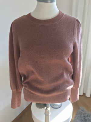 H&M Kraagloze sweater roségoud