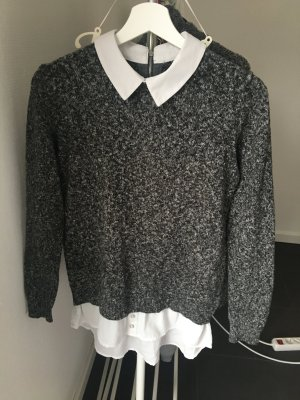 Schicker Pullover Grau Atmosphere
