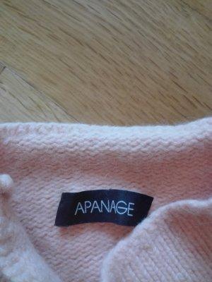 Schicker Pullover in apricot